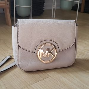 Michael Kors Cream Crossbody